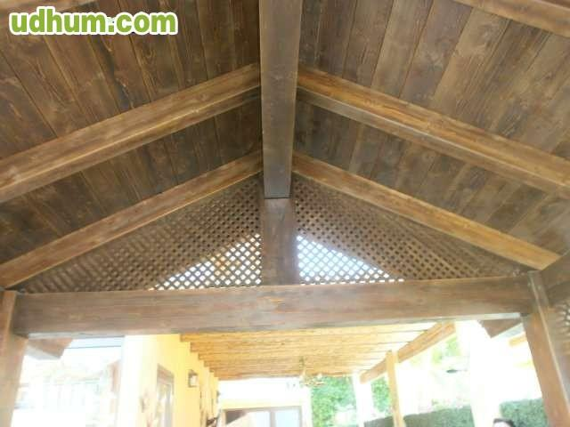 D madera pergolas baratas 1 - Pergolas de madera baratas ...