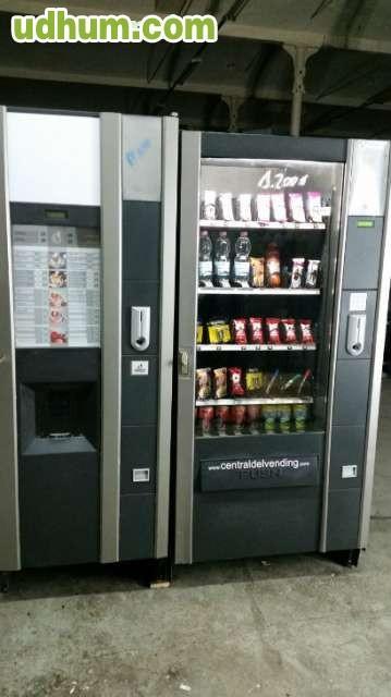 Maquina vending de bebidas y snacks - Maquinas expendedoras de alimentos y bebidas ...
