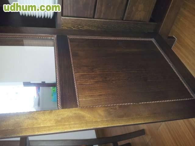 Muebles de salon de madera maciza - Muebles salon madera maciza ...