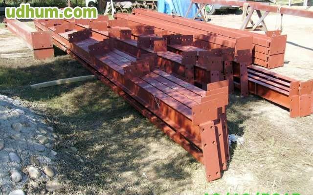 Estructura metalica para nave de ocasi n for Naves prefabricadas de ocasion