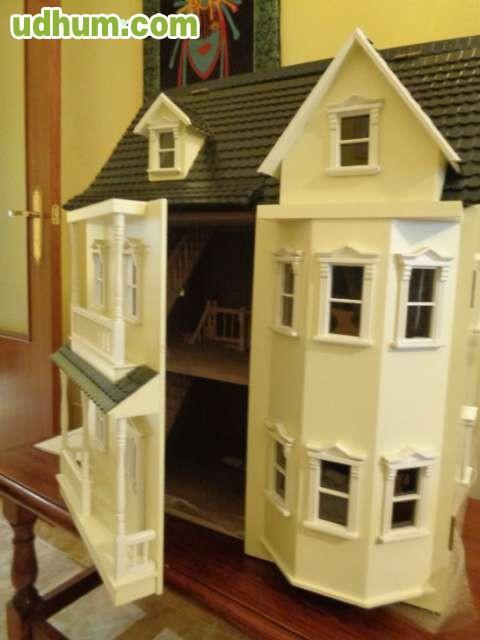 Casa de mu ecas victoriana - Casa de munecas teatro ...