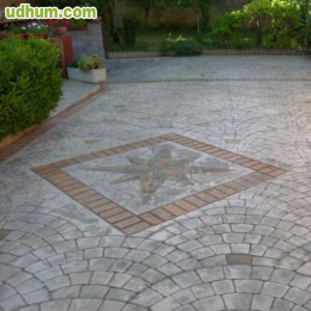 Hormigon impreso y pulido 523 - Suelos para jardines exteriores ...