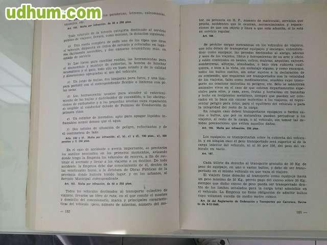 Libro sobre normas de circulaci n for Libro fuera de norma